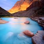 Little Colorado River at dawn, Grand Canyon, AZ. © Jack Dykinga