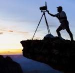 Jack Dykinga at Grand Canyon, AZ. © Jack Dykinga