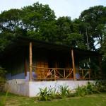 Cabin at El Remanso Lodge. © Daniel Beltrá