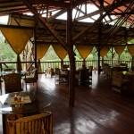 Restaurant at El Remanso. Osa Peninsula, Costa Rica. ˙© Justin Black