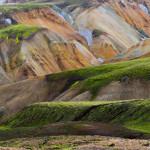 Rhyolite hills, Landmannalaugar, Iceland.