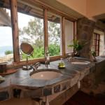 Guestroom Bath, Volcanoes Virunga Lodge