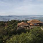 Aerial, Volcanoes Virunga Lodge