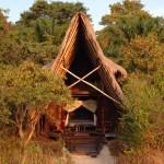 Bedroom Exterior at Nomads Greystoke Camp, Mahale, Tanzania