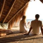 Sunshade at Nomads Greystoke Camp, Mahale, Tanzania